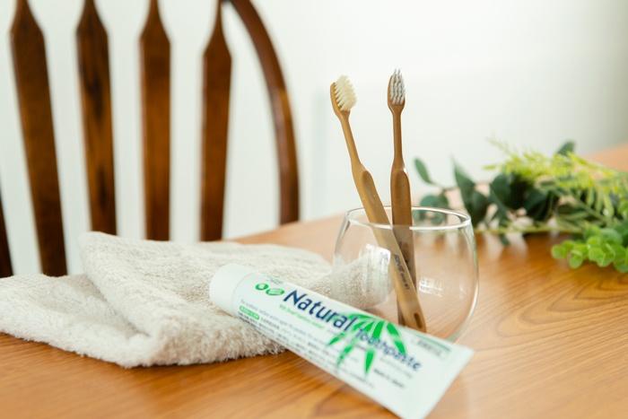 ファインの竹製歯ブラシ