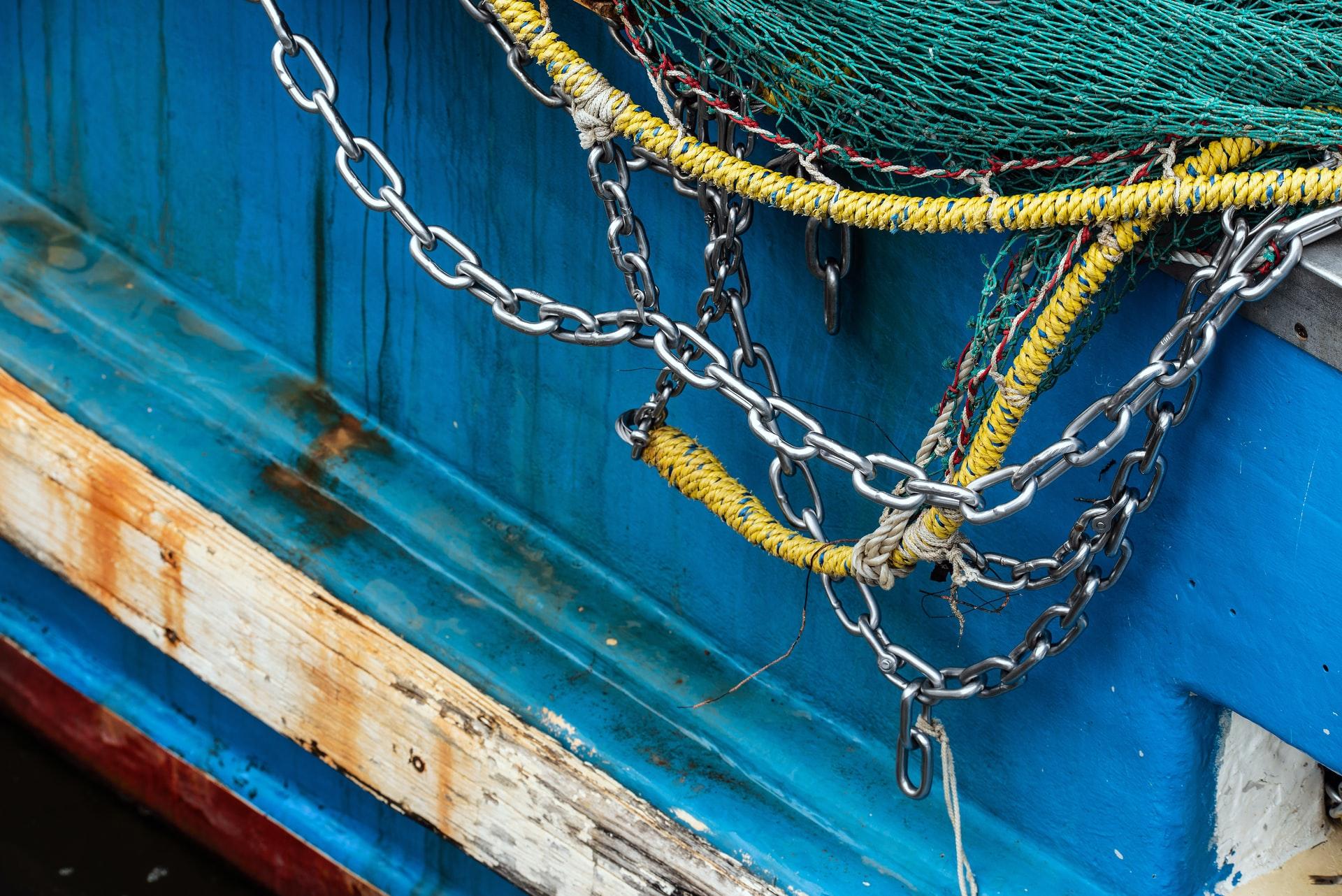 漁業の漁網