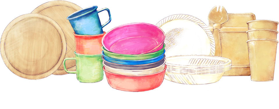 EcoSouLifeの食器